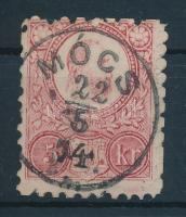 1871 Réznyomat 5kr MÓCS