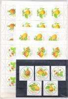 2003 Gyümölcsök sor Mi 1113-1117 + kisívsor