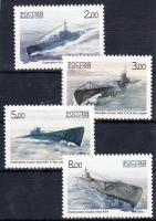2005 300 éves az orosz U-Boot Flotta sor Mi 1236-1239