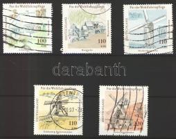 1997 Vízi és szélmalmok sor Mi 1948-1952