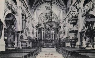 Poznan, Posen; church interior
