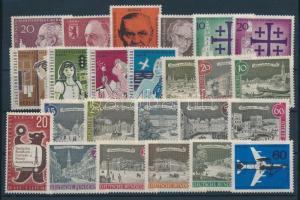 1958-1962 31 klf bélyeg, teljes sorok vagy önálló bélyegek
