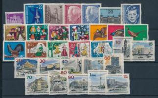 1963-1965 31 klf bélyeg, teljes sorok vagy önálló bélyegek