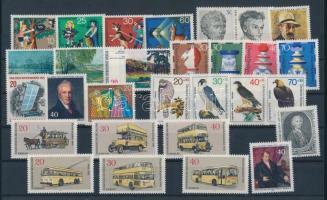 1972-1973 29 klf bélyeg, teljes sorok vagy önálló bélyegek