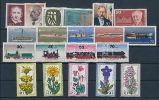 1975 20 klf bélyeg, teljes sorok vagy önálló bélyegek