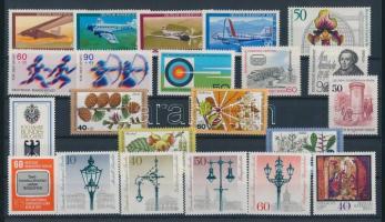 1979 22 klf bélyeg, teljes sorok vagy önálló bélyegek