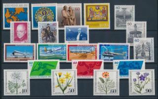 1980 21 klf bélyeg, teljes sorok vagy önálló bélyegek