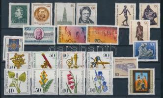 1981 22 klf bélyeg, teljes sorok vagy önálló bélyegek