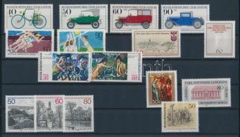 1982 16 klf bélyeg, teljes sorok vagy önálló bélyegek