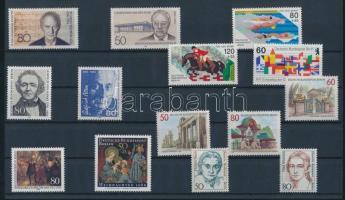 1986 14 klf bélyeg, teljes sorok vagy önálló bélyegek
