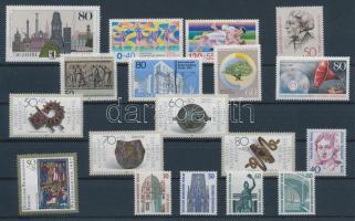 1987 18 klf bélyeg, teljes sorok vagy önálló bélyegek