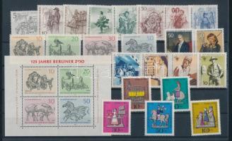 1969 23 klf bélyeg, teljes sorok + önálló kiadások + 1 blokk