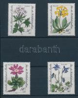 1983 Veszélyeztetett alpesi virágok sor Mi 703-706