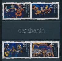 1988 Fiatal zenészek sor Mi 807-810