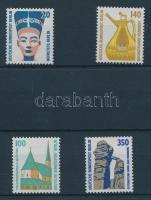 1989 Látványosságok 2 db sor Mi 831-832 + Mi 834-835
