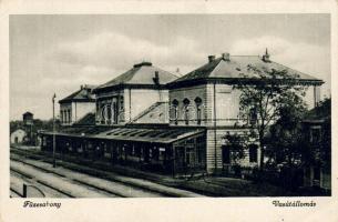 Füzesabony vasútállomás