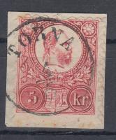 1871 Réznyomat 5kr TORNA