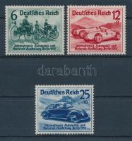 1939 Autó-motor kiállítás Berlin Mi 666-668