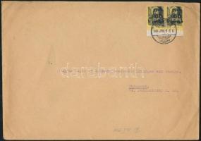 1946(5. díjszabás) Távolsági levél 2x Kisegítő 60P/18f bérmentesítéssel