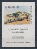 1970 Bélyegkiállítás LUBRAPEX 70 Mi blokk 27