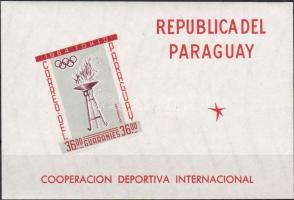 1962. Sport-Együttműködés I. blokk Mi 29