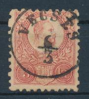1871 Réznyomat 5kr / Mi 10 VECSÉS