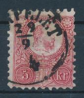 1871 Réznyomat 5kr (VER)PELÉT