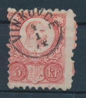 1871 Réznyomat 5kr VINKOVCE