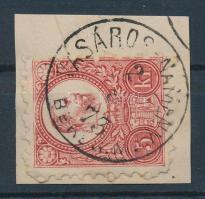 1871 Réznyomat 5kr VÁSÁROS-NAMÉNY BEREG M.