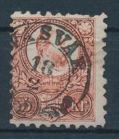 1871 Réznyomat 5kr VASVÁR