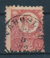 1871 Réznyomat 5kr VÁROSLŐD V(ESZP.)M