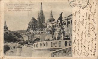 Budapest I. Vár lépcső, Hunyadi szobor