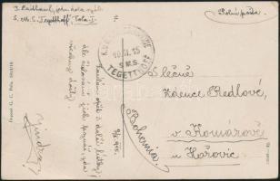 1915 Pola képeslap S.M.S TEGETTHOFF