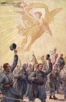 Military, Hungarian soldiers, Christmas edition (pinhole), Katonaság, magyar katonák, karácsonyi kiadás (lyuk)