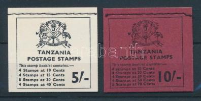 1973 Halak 5Sh, 10Sh bélyegfüzetek / Fish, 2 stamp booklets