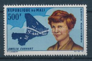 1967 A. Erhart pilótanő, térkép Mi 145