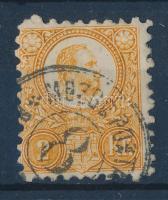 1871 Réznyomat 2kr narancs MOZGÓ POSTA 8