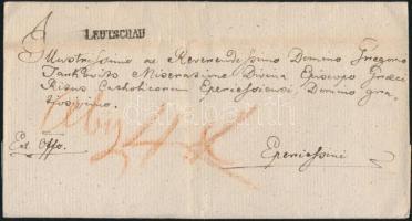 ca. 1830 Ex offo LEUTSCHAU - Eperiessini