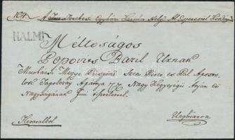 1845 Ex offo HALMI - Unghváron