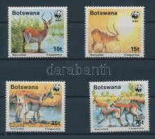 1988 WWF Antilop sor Mi 431-434