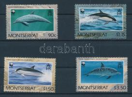 1990 WWF Delfin sor Mi 786-789