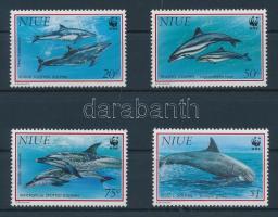 1993 WWF Delfin sor 822-825