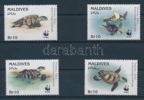 1995 WWF Teknős sor Mi 2420-2423