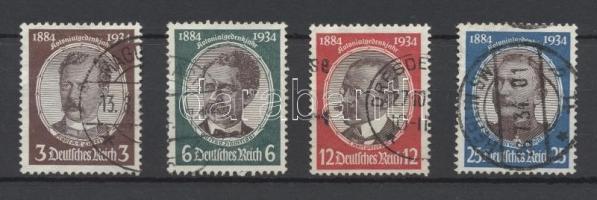 1934 Gyarmatkutatók Mi 540-543