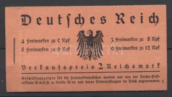 1933 Bélyegfüzet / stamp booklet Mi 33