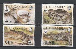 1984 WWF: Nílusi krokodil sor Mi 517-520
