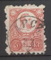 1871 Réznyomat 5kr APCZ