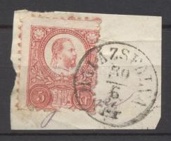 1871 Réznyomat 5kr BALÁZSFALVA