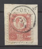 1871 Réznyomat 5kr BATTONYA