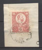 1871 Réznyomat 5kr DEVECSER / VESZP. M.